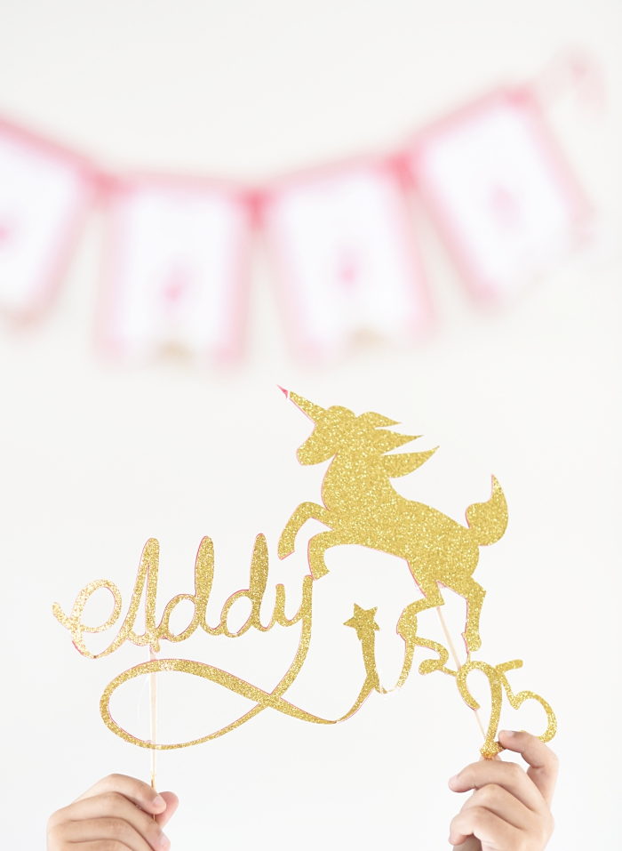 In this post, I'm sharing how to make a custom hand-lettered cake topper using your phone, the free app Adobe Sketch, software Inkscape and your Cricut.
