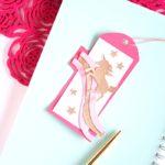 DIY Unicorn Bookmark Using Cricut