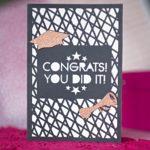 FREE Graduation Card SVG File + Intricate Cut Tips + Tutorial