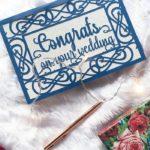 FREE Wedding Card SVG File + Tutorial