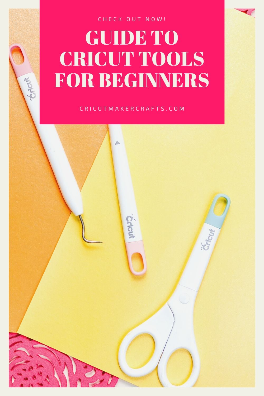 Cricut scissors, weeder and scoring stylus