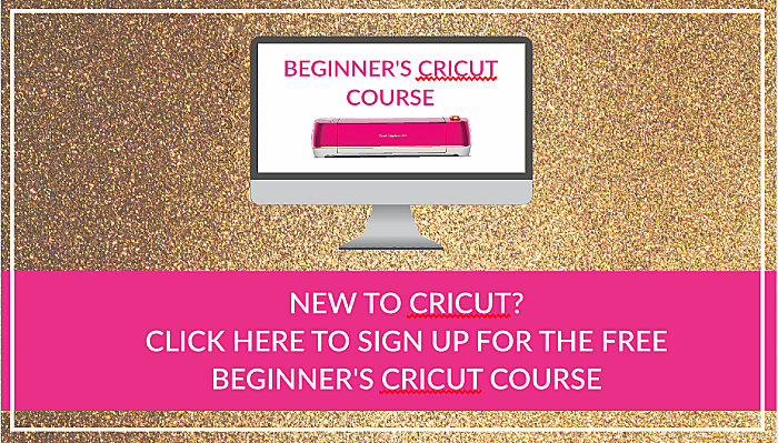 beginner's cricut course. learn cricut basics.