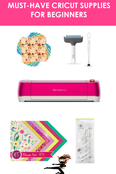 In this post, I'm sharing a list of must-have supplies for Cricut beginners. Included in the list are Cricut tools, vinyl, and blades that you need to purchase with your Cricut so you can get started with crafting with your Cricut.