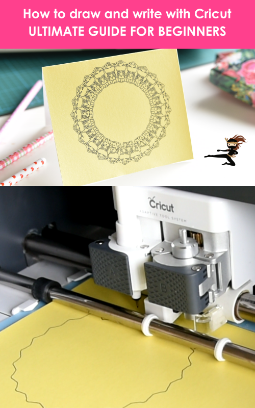 Click over for a complete tutorial on How to Write with Cricut and find out what are some of the best cricut writing fonts.