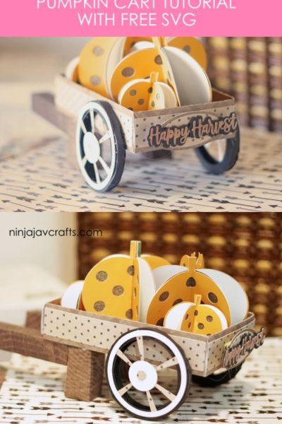 Free fall svg - pumpkin cart tutorial by ninjajavcrafts.com