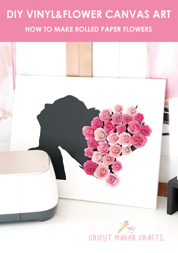 In this post, I'm sharing rolled paper flower SVG for Cricut along with the tutorial on how to turn a photo into a decal using Inkscape. This free rolled paper flower SVG can be resized to create rolled paper flowers of various sizes depending on how you like.