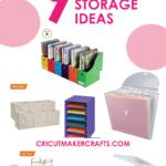 9+ AMAZING Craft Paper Storage Ideas