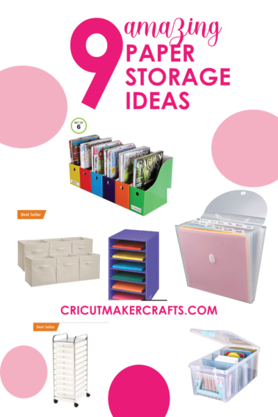 craft paper storage ideas for a4 and 12x12 papers and scrapbook papers