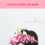 How to Make a Unicorn Crown (FREE SVG)