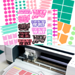 How to Make Planner Stickers with Cricut (7 FREE Templates)