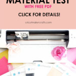 Print&Cut Material Test (Magnet Sheets, Glow in the Dark, Etc.)
