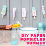 Paper Popsicle Craft [FREE SVG + PDF]