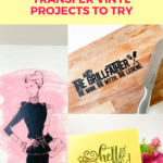 9 UNIQUE Heat Transfer Vinyl Projects to Try