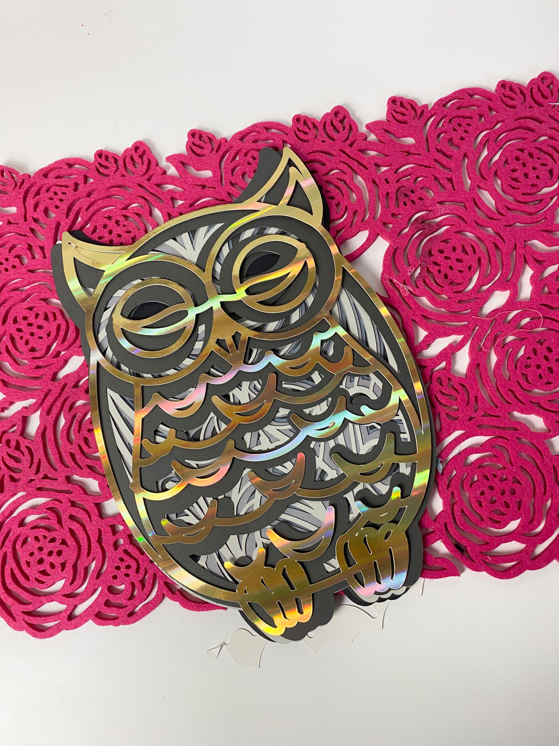 102+ Owl Mandala Svg Free – SVG,PNG,DXF,EPS include