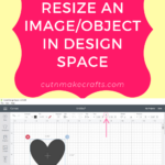 How to Resize an Image in Cricut Design Space