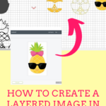 How to create a layered image on Cricut