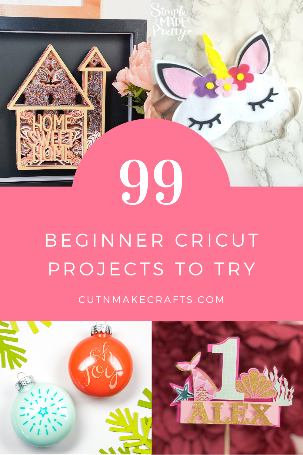 99 Free Cricut Projects For Beginners Cut N Make Crafts