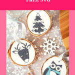DIY Wood Slice Cricut Ornaments - So Easy